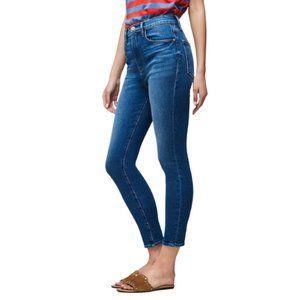 "FRAME Denim Ali High Rise Cigarette Jeans in ""Olympus"" - Ankle Length, Size 27"